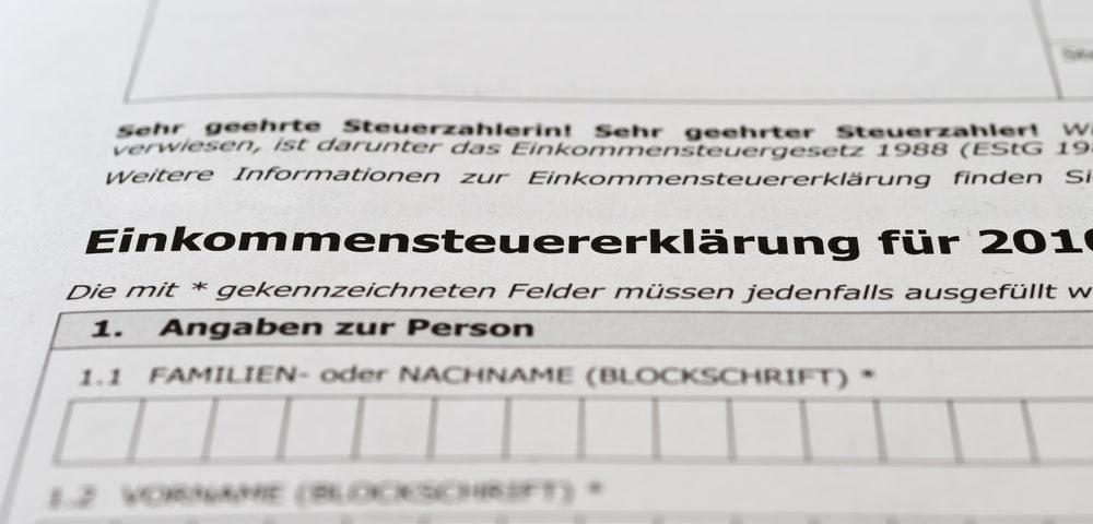 Zwangsverwalter muss Einkommensteuer abführen